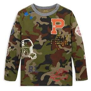 Ralph Lauren Boys' Camo-Print Football Tee - Big Kid