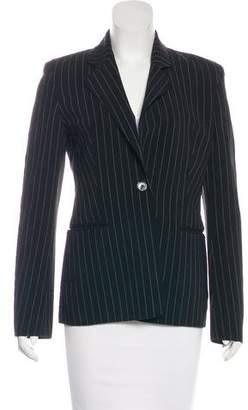 Celine Wool Pinstripe Blazer