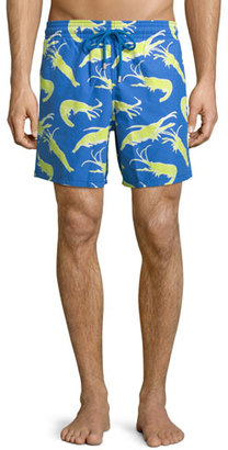 Vilebrequin Moorea Shrimp-Print Swim Trunks $250 thestylecure.com