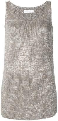 Fabiana Filippi longline knitted tank top