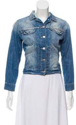 Etoile Isabel Marant Denim Embellished Jacket