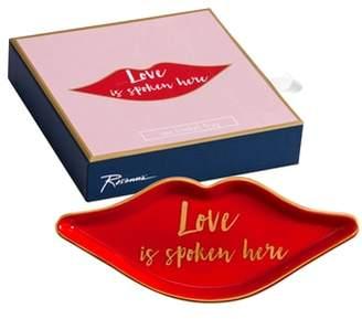 Rosanna Love Is Spoken Here Tray
