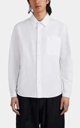 Craig Green Men's Tab-Detailed Cotton Oxford Shirt - White