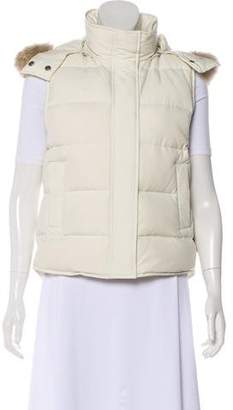 Theory Hooded Down Vest