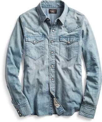 Ralph Lauren Indigo Denim Western Shirt