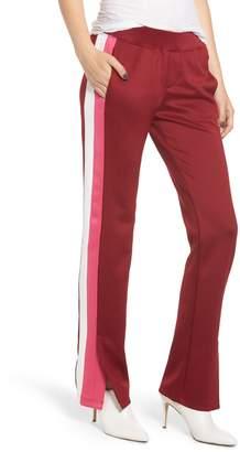 Pam & Gela Microscuba Side Slit Track Pants