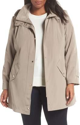 Gallery Hooded Raincoat