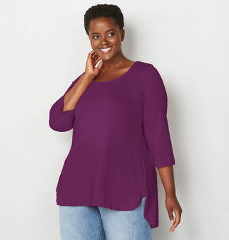 Avenue Solid Hi Lo Tunic