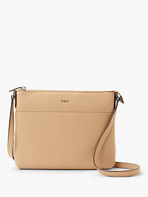 dd821545e336 at John Lewis and Partners · DKNY Bellah Leather Cross Body Bag