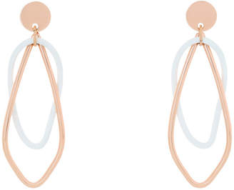 EA6881 Symbio II Albertine Statement oval hoop earrings