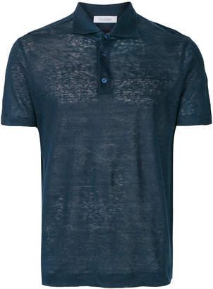 Cruciani button polo shirt
