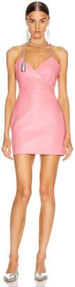 Area Chandelier Tassel Strap Mini Dress in Pink | FWRD