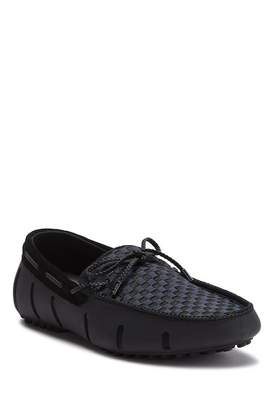 Swims Lace Woven Driver Loafer