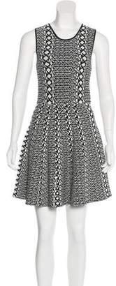 Stella & Jamie Patterned Knit Dress