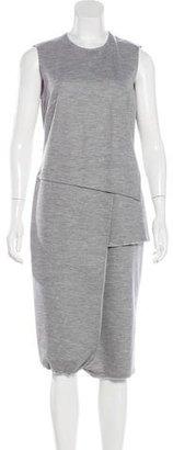 Derek Lam Wool-Blend Layered Dress $125 thestylecure.com