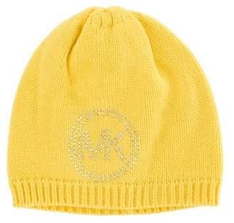 MICHAEL Michael Kors Logo Knit Beanie w/ Tags