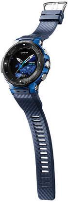 Casio Pro Trek Unisex Blue Smart Watch-Wsd-F30-Bucau