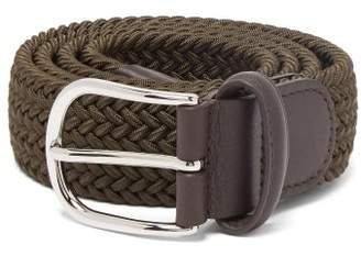 Andersons Anderson's - Woven Elasticated Belt - Mens - Dark Green