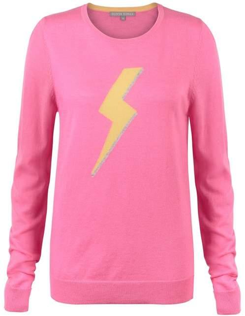 Lightning Bolt Pink Jumper