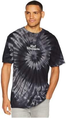 HUF Bar Bird Tie-Dye Short Sleeve Tee Men's T Shirt