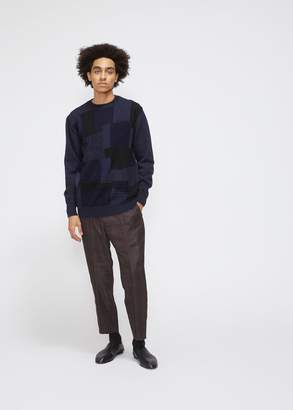 Comme des Garcons Homme Intarsia Mix Sweater