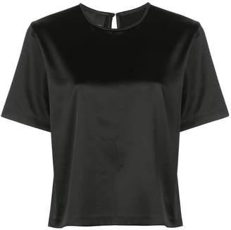 Cynthia Rowley (シンシア ローリー) - Cynthia Rowley ストレッチサテン Tシャツ