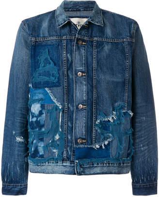Levi's Made & Crafted destroyed denim jacket