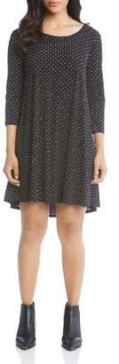 Karen Kane Maggie Dot-Print Dress