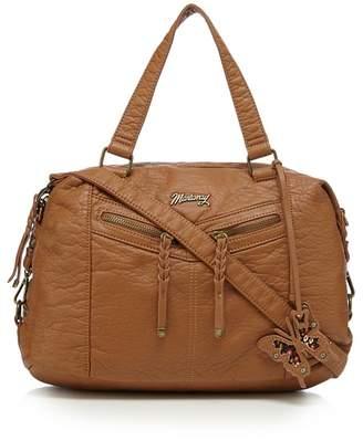Mantaray Tan Bowler Bag