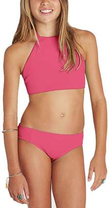 Billabong Sol Searcher Hi Neck Bikini Set - Girls'