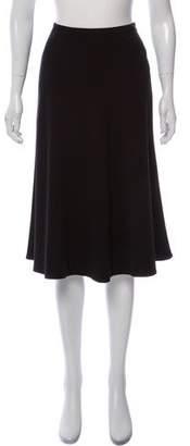 Ralph Lauren A-Line Knee-Length Wool Skirt