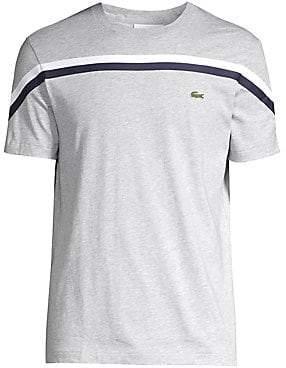 Lacoste Men's Striped Crew T-Shirt