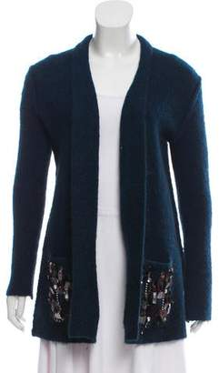 By Malene Birger Wool Embellished Cardigan