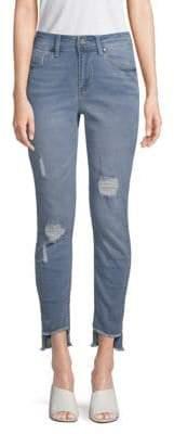 Kenneth Cole Jess Distressed Skinny Jeans