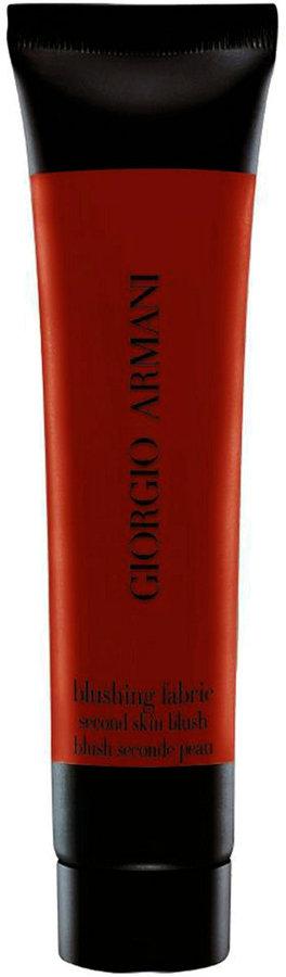 Giorgio Armani Blushing Fabric Second Skin Blush- 7: Scarlatto Red