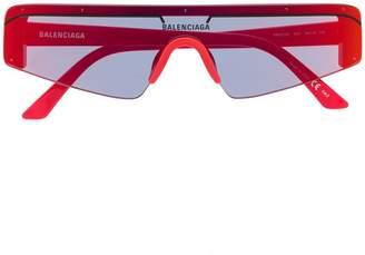 94aa2bcf35 Balenciaga Eyewear futuristic sunglasses