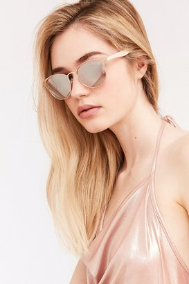 Camille Painted Square Sunglasses $16 thestylecure.com