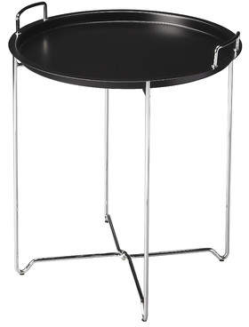 Wrought Studio X-Base Metal Tray Table