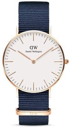 Daniel Wellington Classic NATO Watch, 36mm