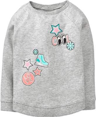 Crazy 8 Crazy8 Toddler Emoji Pullover