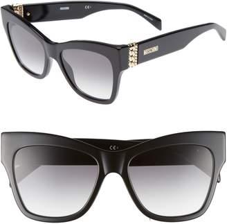 Moschino 53mm Cat's Eye Sunglasses