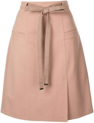 9dd6785dc4 Tibi Bond Stretch Knit A-Line Skirt