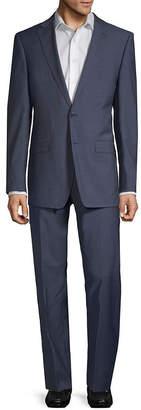 Calvin Klein Slim-Fit Neat Wool Suit