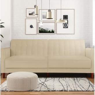 Willa Arlo Interiors Nia Pin Tufted Convertible Sofa