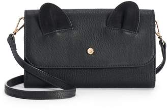 Lauren Conrad Iris Cat Ears Crossbody Wallet