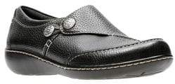 Clarks Collection By Moc-Toe Leather Loafers