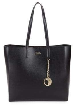 Versace Black Leather Tote Bags - ShopStyle 8a6c5053d574e