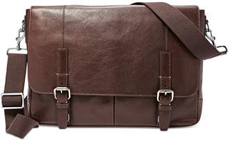 Fossil Graham Leather Messenger Bag