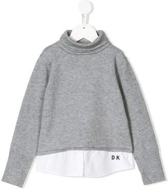DKNY layered jumper