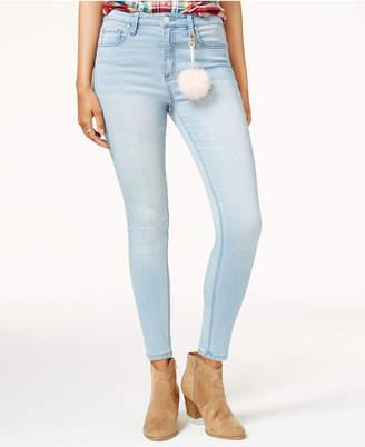 Tinseltown Juniors' High Rise Skinny Jeans